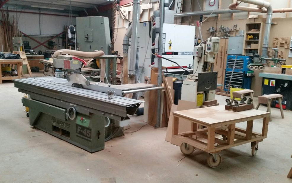 Woodworking workshop facility